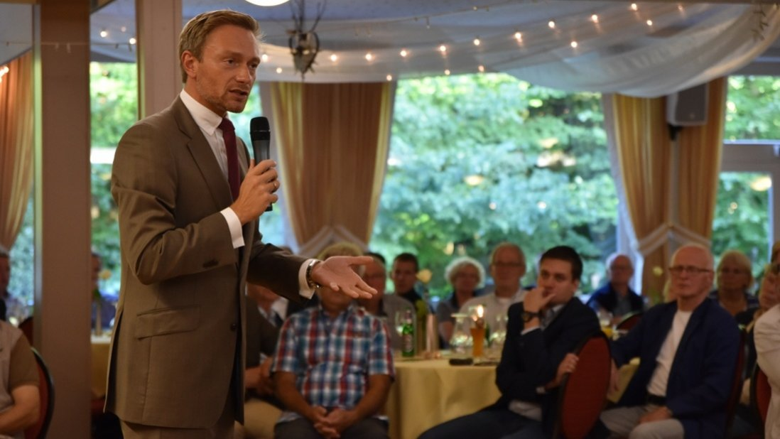 Christian Lindner in Stenum