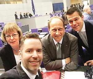 Selfie von der Sitzung - Bundestag