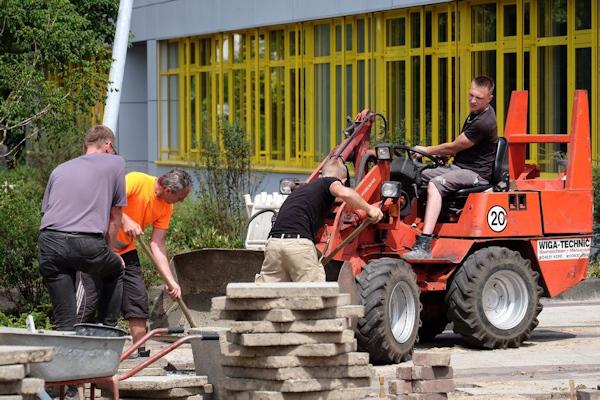 Umgestaltung Schulhof Gymnasium