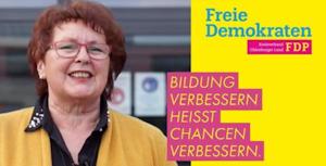 Marion Daniel: Vorsitzende der FDP Kreistagsfraktion