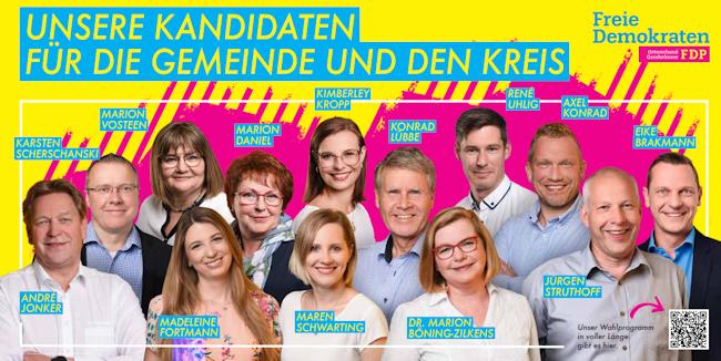 Kommunalwahl 2021: Unsere Kandidaten für Ganderkesee